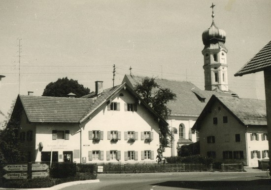 Seeshaupter Bürgerstiftung - Seeshaupter Ortmitte anno 1960